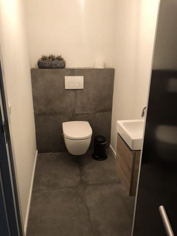 Verwonderlijk Badkamer en toilet renovatie 1 – Goudsmitbouw NR-33